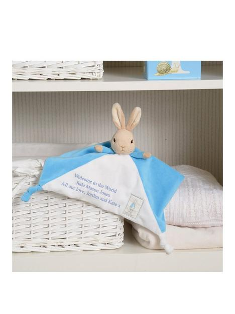 signature-gifts-personalised-peter-rabbit-comforter
