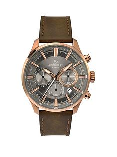accurist-accurist-men039s-chronograph-strap-watch