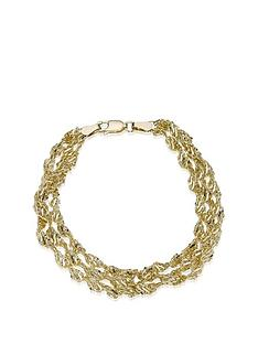 love-gold-9-carat-yellow-gold-3-row-twist-bracelet
