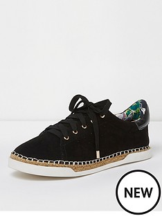 river-island-river-island-lace-up-espadrille-trainer--black
