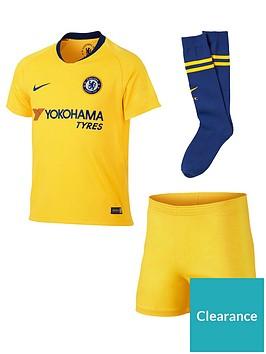 d523c6fa28509 Nike Chelsea Away Little Kids Kit | littlewoodsireland.ie