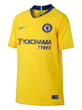 25b32232 Nike Youth Chelsea Away Short Sleeved Stadium Jersey - Yellow ...