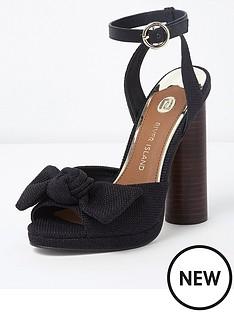 river-island-circle-bow-heeled-sandals-black