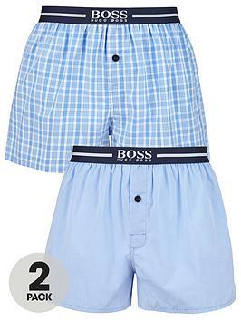 boss-bodywear-2-pack-woven-boxer-short-blue