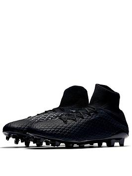 46b59a740a10 Nike Hypervenom Phantom III Pro Dynamic Fit Firm Ground Football Boots -  Black