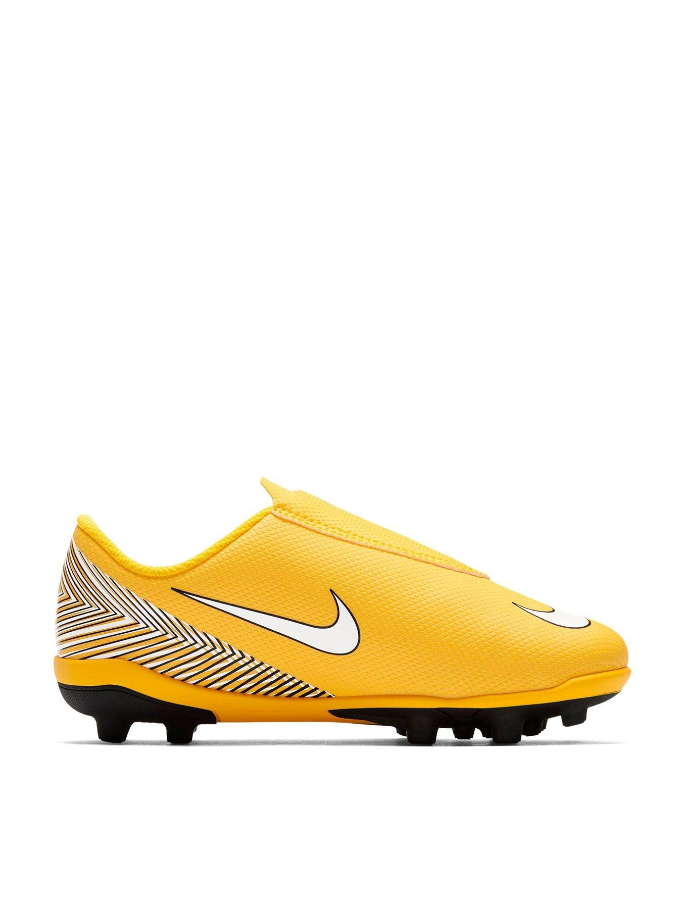 new styles b0005 ee711 ... best price nike junior vapour club v neymar mg football boot yellow  black c5cf0 13fe5