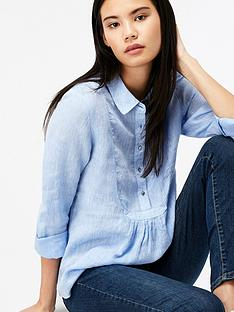 monsoon-joy-dobby-linen-shirt