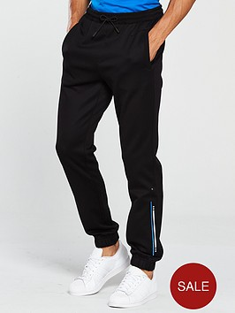 boss-athleisure-logo-cuffed-sweat-pants