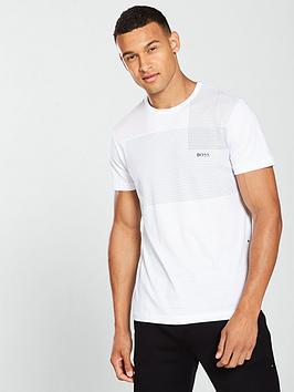 boss-dot-print-t-shirt-white