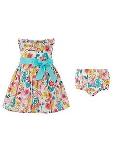 monsoon-newborn-baby-elouise-woven-dress