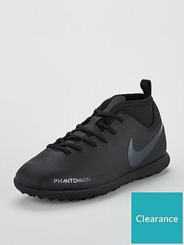 fc75475cac58 Nike Junior Phantom Vision Club Dynamic Fit Astro Turf Football Boots -  Black