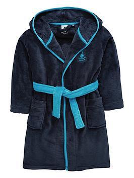 character-tottenham-hotspur-football-fleece-robe-navy