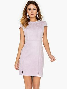 girls-on-film-pearl-embellished-suede-mini-dress-lilac