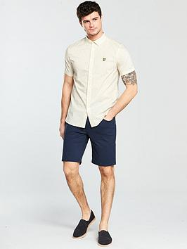 Clearance Real Sleeve amp Scott Lyle Print Short Shirt Lyle Micro Scott amp Outlet New Arrival Sale Choice Clearance Best durVd