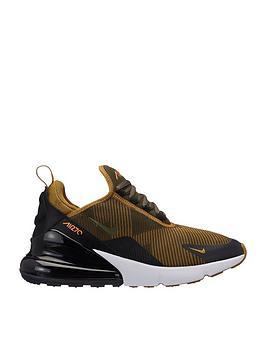 40985ee3c Nike Junior Air Max 270 Jacquard - Khaki Black