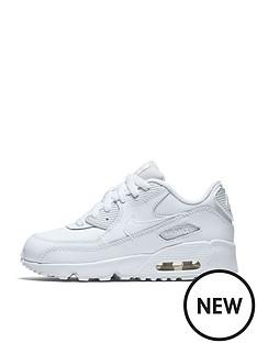 nike-childrens-air-max-90-leather-whitenbsp
