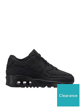 nike-air-max-90-mesh-se-junior-trainers-black