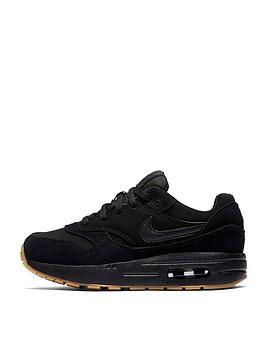 nike-air-max-1-childrens-trainers-black
