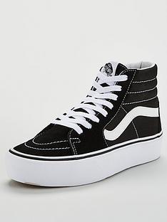3ed20b30755fe Vans Sk8-Hi Platform - Black White