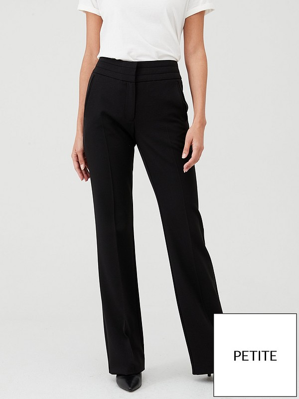 best wholesaler super quality best supplier V by Very Petite The Bootcut Trouser - Black | littlewoodsireland.ie