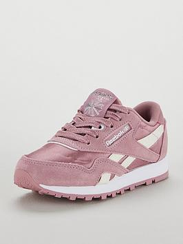 Reebok Classic Nylon Childrens Trainer  681a1579f