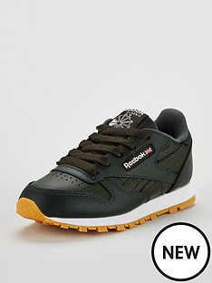 79aebf0baad Reebok Classic Leather Childrens Trainer