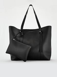 v-by-very-bridget-soft-tie-detail-shopper-black