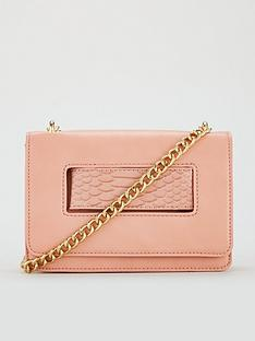 828f1217e5 V by Very Pia Boxy Crossbody Bag - Blush