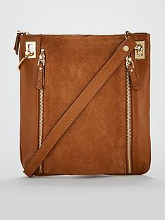 v-by-very-bayley-leather-zip-detail-cross-body-bag-tannbspnbsp