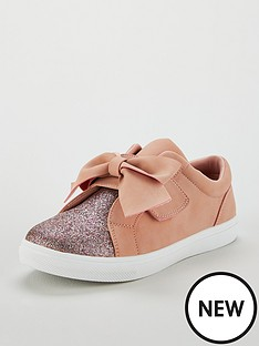 v-by-very-katy-glitter-amp-large-bow-plimsole