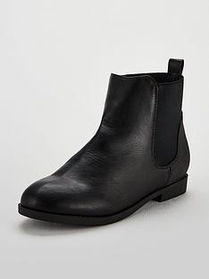 v-by-very-girls-hannah-snake-trim-chelsea-boots-black