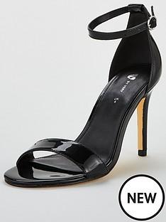 v-by-very-gemma-mid-heel-mnimal-sandal-black