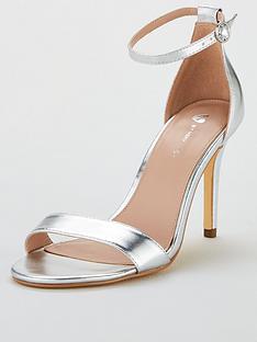 c2f823cd6635 V by Very Gemma Mid Heel Minimal Sandal