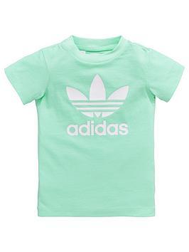 adidas-originals-baby-girls-zoo-tee-set-green
