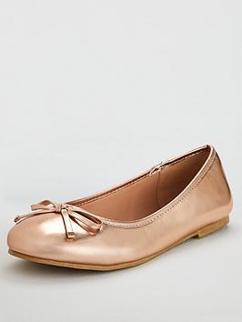 v-by-very-maple-round-toe-ballerina