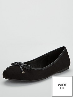 v-by-very-wide-fit-maple-round-toe-ballerina-black