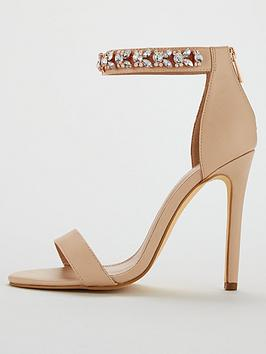 Nude Very Jewel V High Minimal Bae  by Strap Sandal Ankle For Sale Cheap Price From China Amazing Price Cheap Online Best Sale Cheap Online Shop Offer For Sale iI1ikmhah