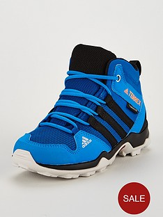 adidas-terrex-ax2r-mid-childrensnbsptrainers-blue