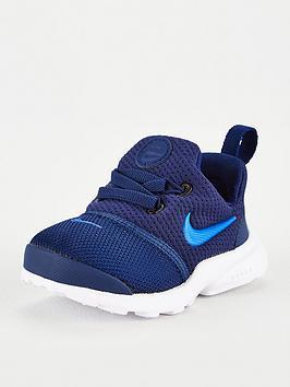 Nike Presto Fly Infant Trainers - Blue  171e12b2d