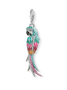 thomas-sabo-sterling-silver-enamel-parrot-charm