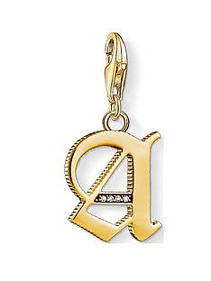 thomas-sabo-thomas-sabo-18k-gold-plate-sterling-silver-cubic-zirconia-set-letter-a-charm