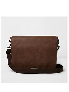 river-island-flapover-messenger-bag