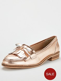 v-by-very-madras-flat-leather-loafer-rose-goldnbsp