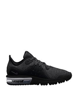 nike-air-max-sequent-3-junior-trainers-blackgrey