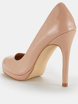 Court Nude V  Carla High Shoe Very by Platform Clearance Looking For a5mvKpp