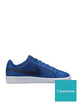 nike-court-royale-junior-trainers-navy