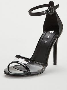 v-by-very-brisbane-square-toe-high-minimal-vinyl-sandal