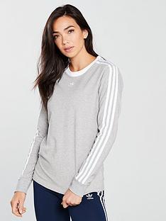 adidas-originals-3-stripes-long-sleeve-top-medium-grey-heathernbsp