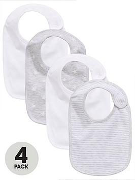 mini-v-by-very-baby-unisex-3-packnbspstar-amp-stripe-bibs-whitegrey