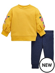 mini-v-by-very-baby-girls-embroided-sleeve-sweat-amp-legging